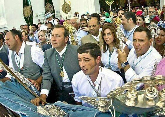 Susana, Gran Madre Nacionalcatólica, presenta aquí sus oficios a Nuestro Señor. El objetivo primordial de estas oraciones es que el Sevilla FC haga este año un buen papel en la Europa League tras su mediocre participación en la Champions League, y un comienzo de liga un tanto irregular.