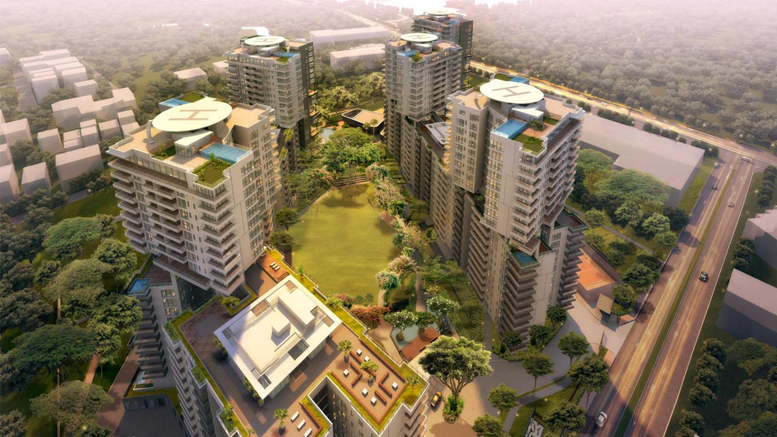 Embassy Lake Terraces in Hebbal Bangalore | Price | Reviews | Offers