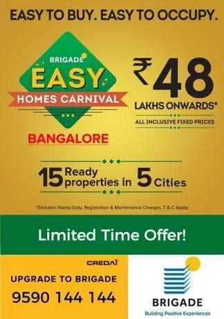 Brigade Easy Homes Carnival