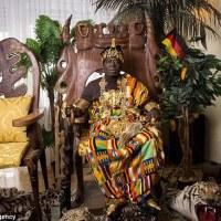 تعرف على ملك إفريقي King African يسكن ألمانيا و يحكم شعبه عبر النت ويعمل ميكانيكيا