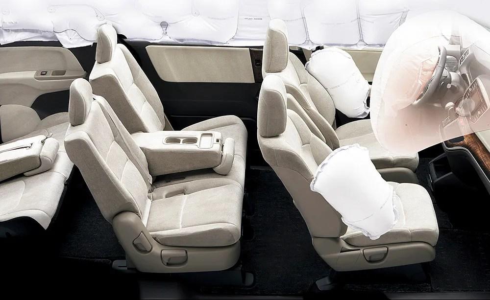 honda side curtain airbags