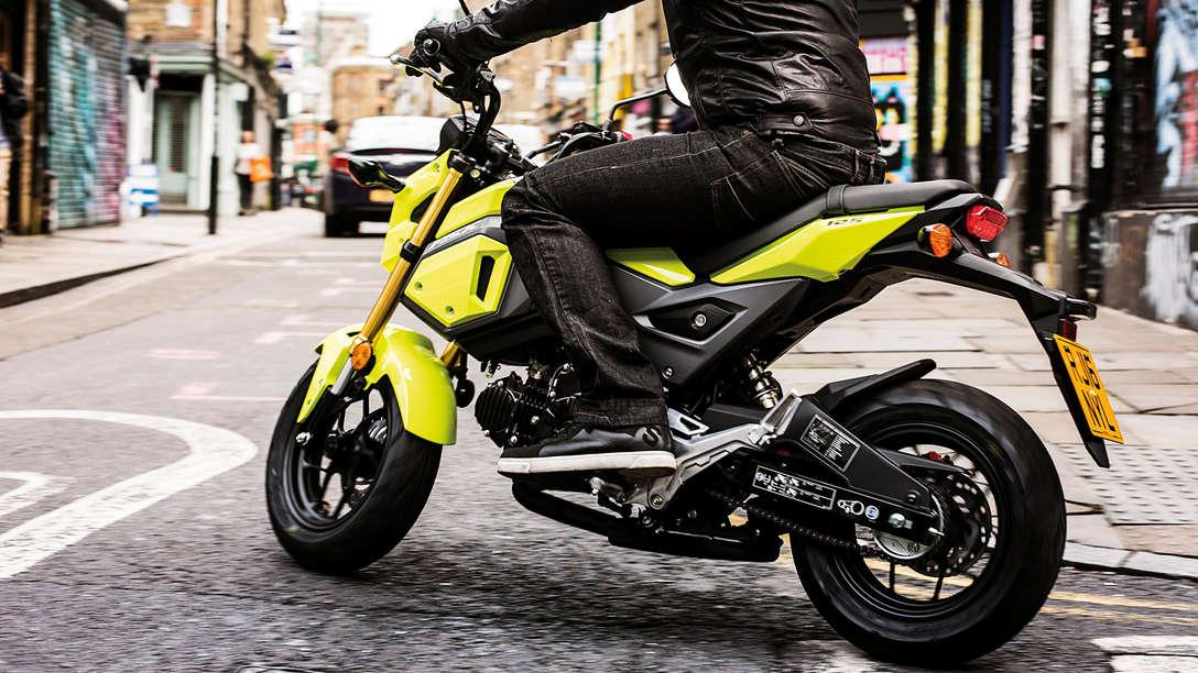 Honda MSX125 New Look Bike With Attitude Honda UK