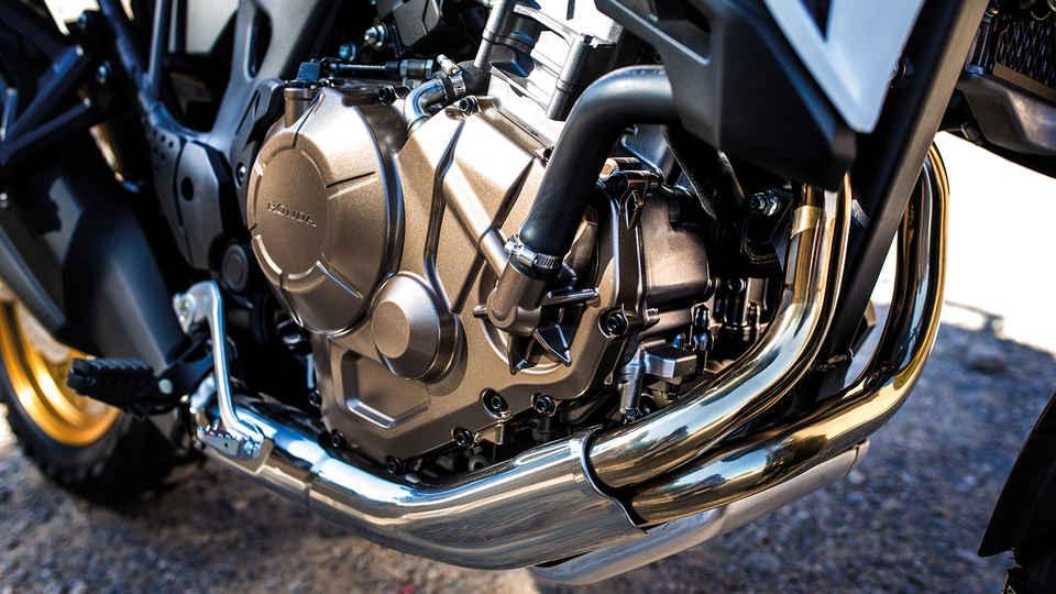 Priblížený pohľad na motor
