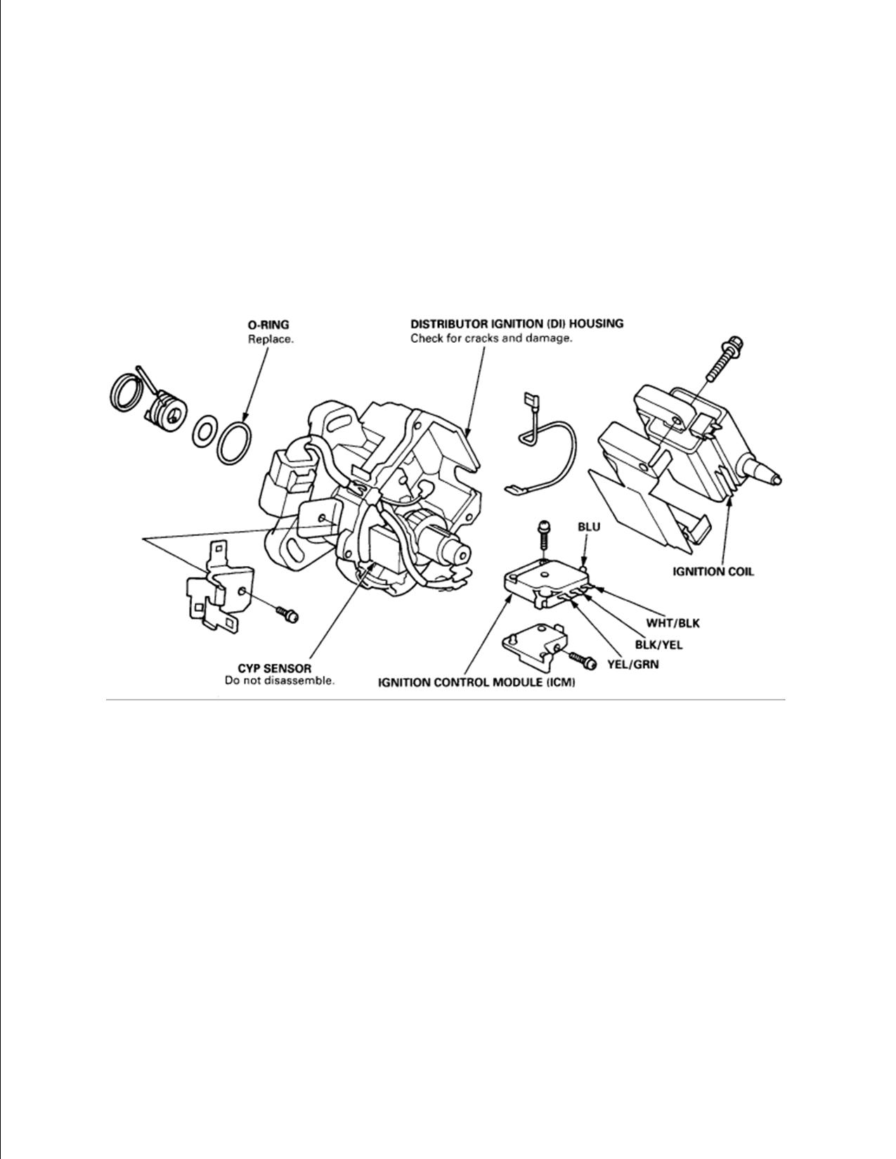 97 Honda Accord Tdc Sensor Location