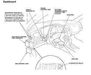 needing help with multiplex control unit  Honda Accord