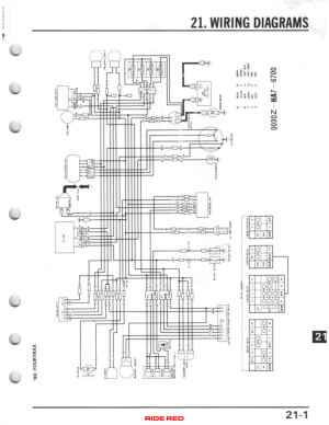 1986 TRX 350d no spark  Honda ATV Forum