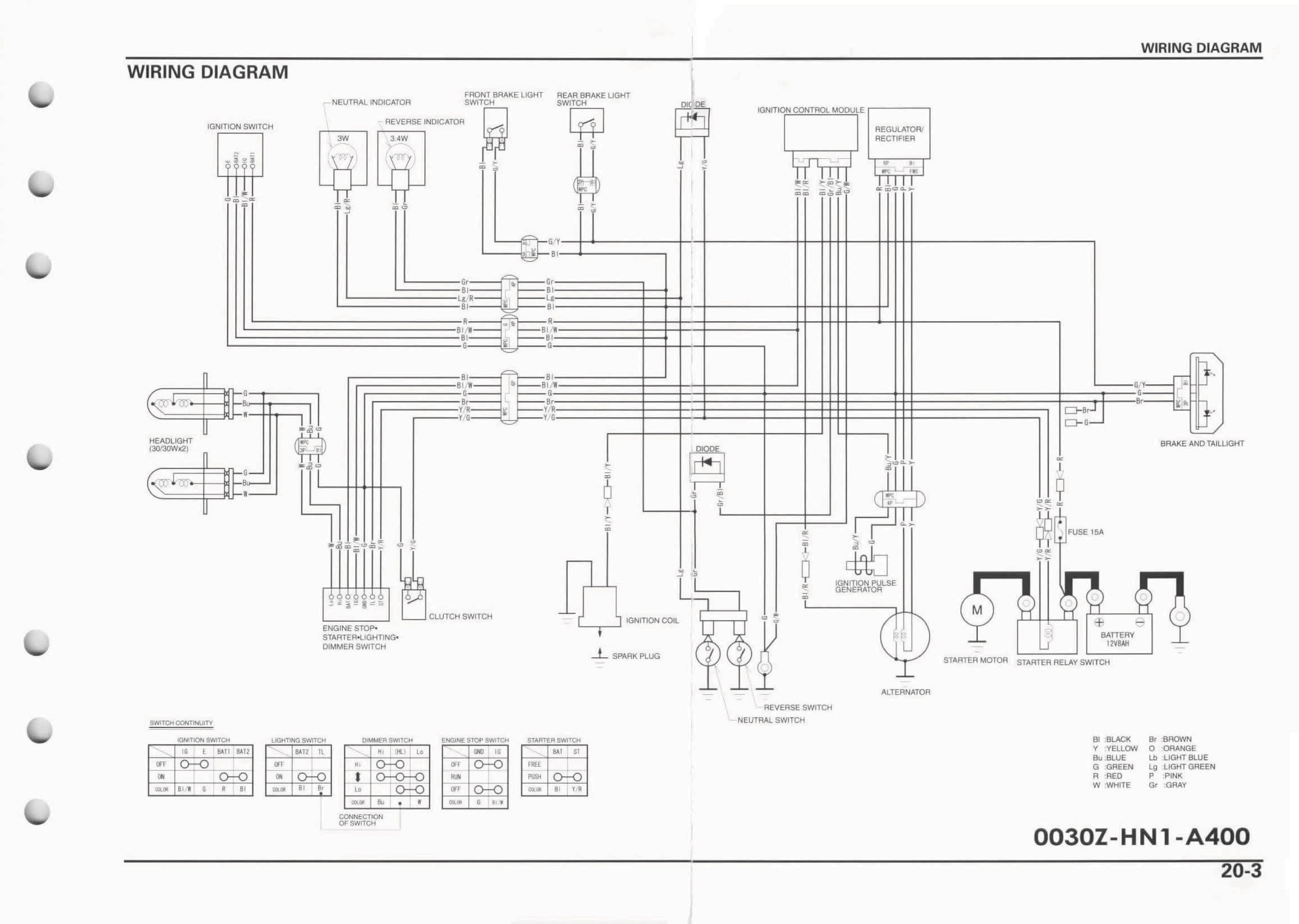 Honda Wiring Diagram