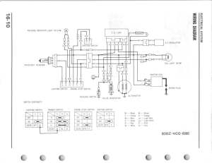 Looking for wiring diagram 1987 TRX250X  Honda ATV Forum