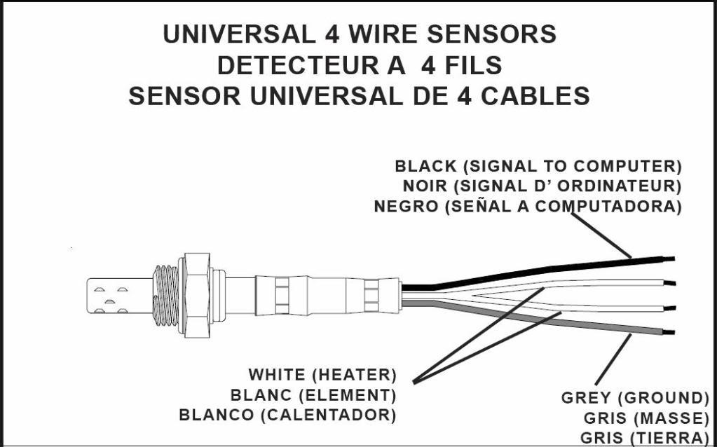 4 Wire O2 Sensor Wiring Diagram : Wire denso oxygen sensor wiring diagram hyundai