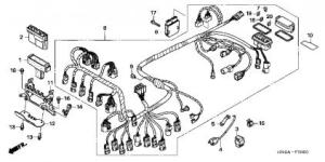 Ignition Wiring Diagram Needed for 07 TRX500FAFGA  Honda