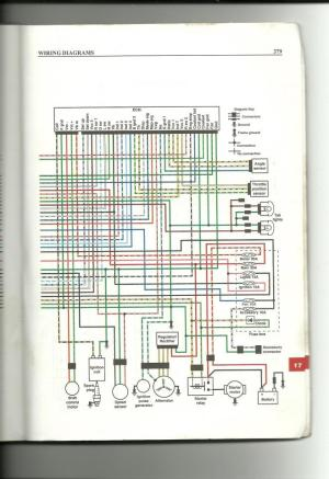 wiring diagram needs for 01 rubicon 500  Honda Foreman