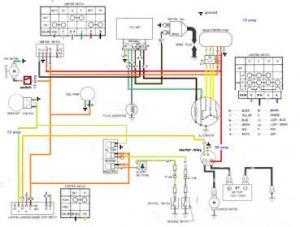 1989 honda trx 350 Wiring diagram  Honda Foreman Forums