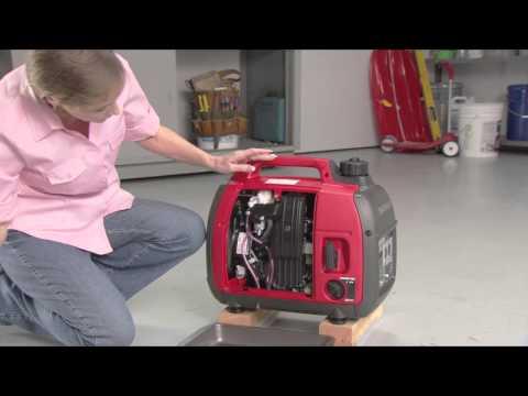 How to store Honda generators.