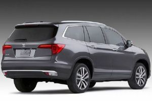 2018 HONDA PILOT COLORS