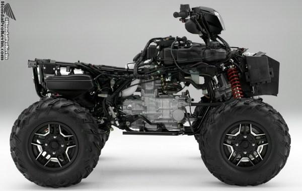 2016 Honda Foreman vs Rubicon ATV  Differences