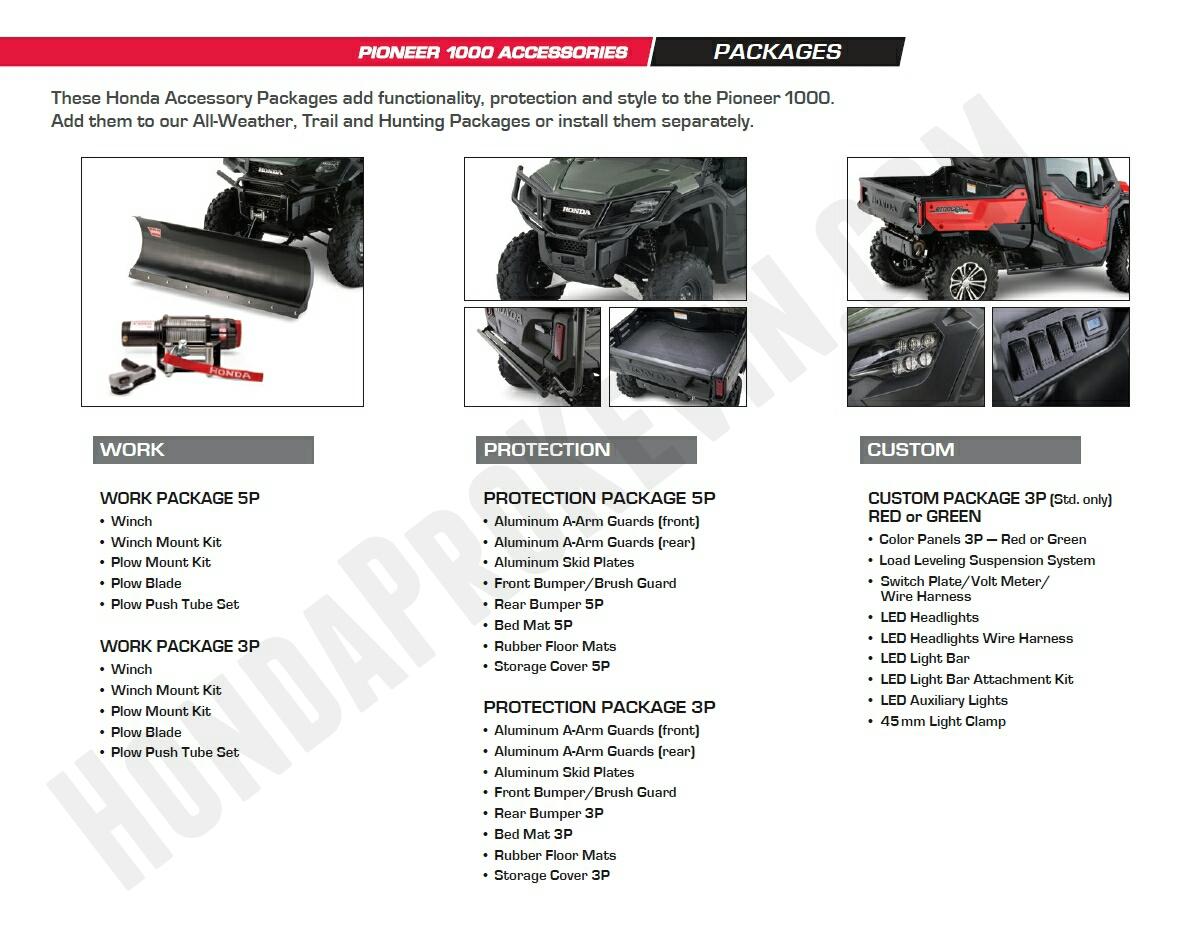 Honda Pioneer Parts Amp Accessories Review