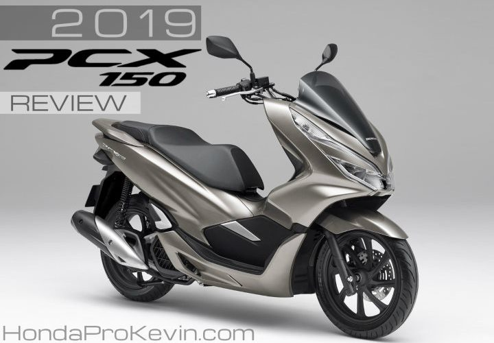 2019 Honda Pcx150 Scooter Review Of Specs New Changes Price Colors