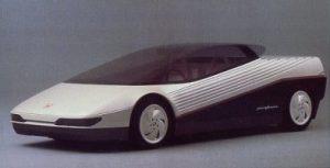 1994年のトリノ・ショーで発表されたコンセプトカー・HP-X。車名はHonda Pininfarina Experimentalの頭文字から名付けられたもの。