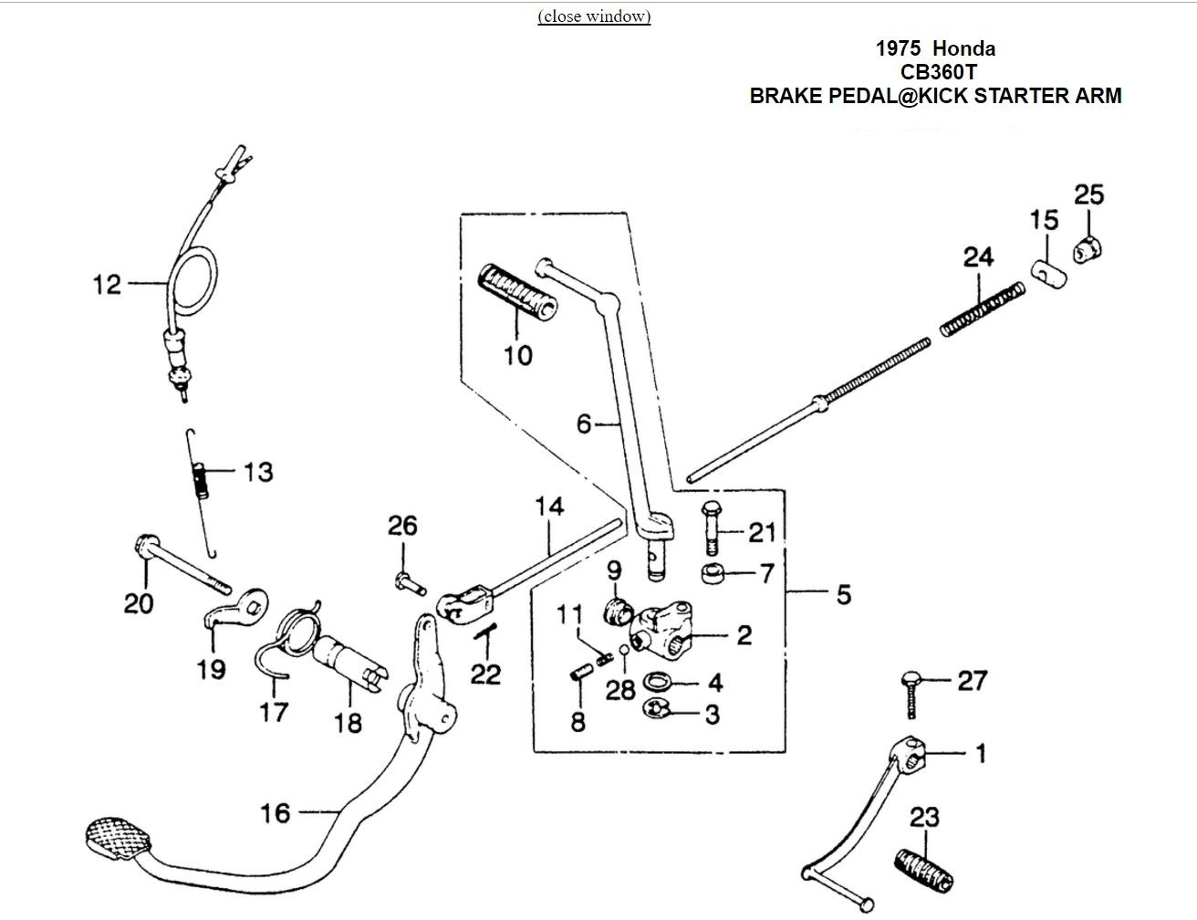 [DIAGRAM] Simple Wiring Diagram 1975 Honda Cb360 FULL