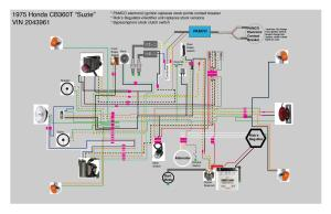 CB360T  Better Cleaner Wiring Diagram