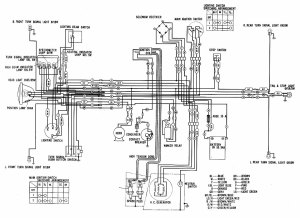 Honda CD175 Wiring Diagram