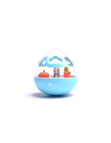 p.l.a.y. Wobble treat ball blue