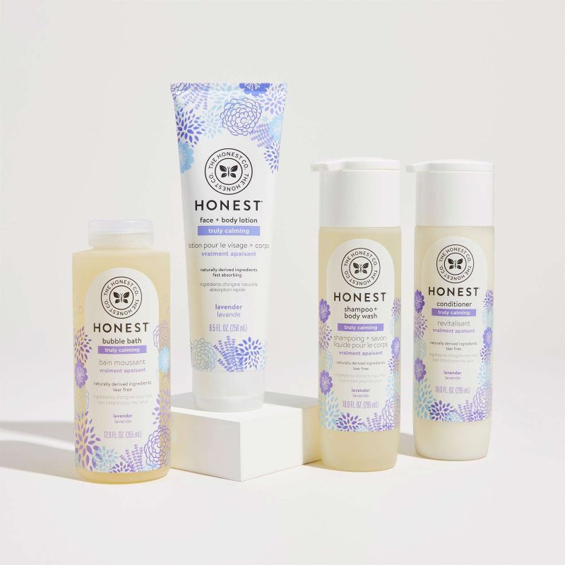 The Honest Company Calming Bathtime Routine