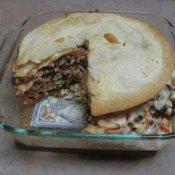 Southwestern tortilla pie recipe