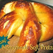Homemade soft pretzels are delicious and incredibly easy to make!