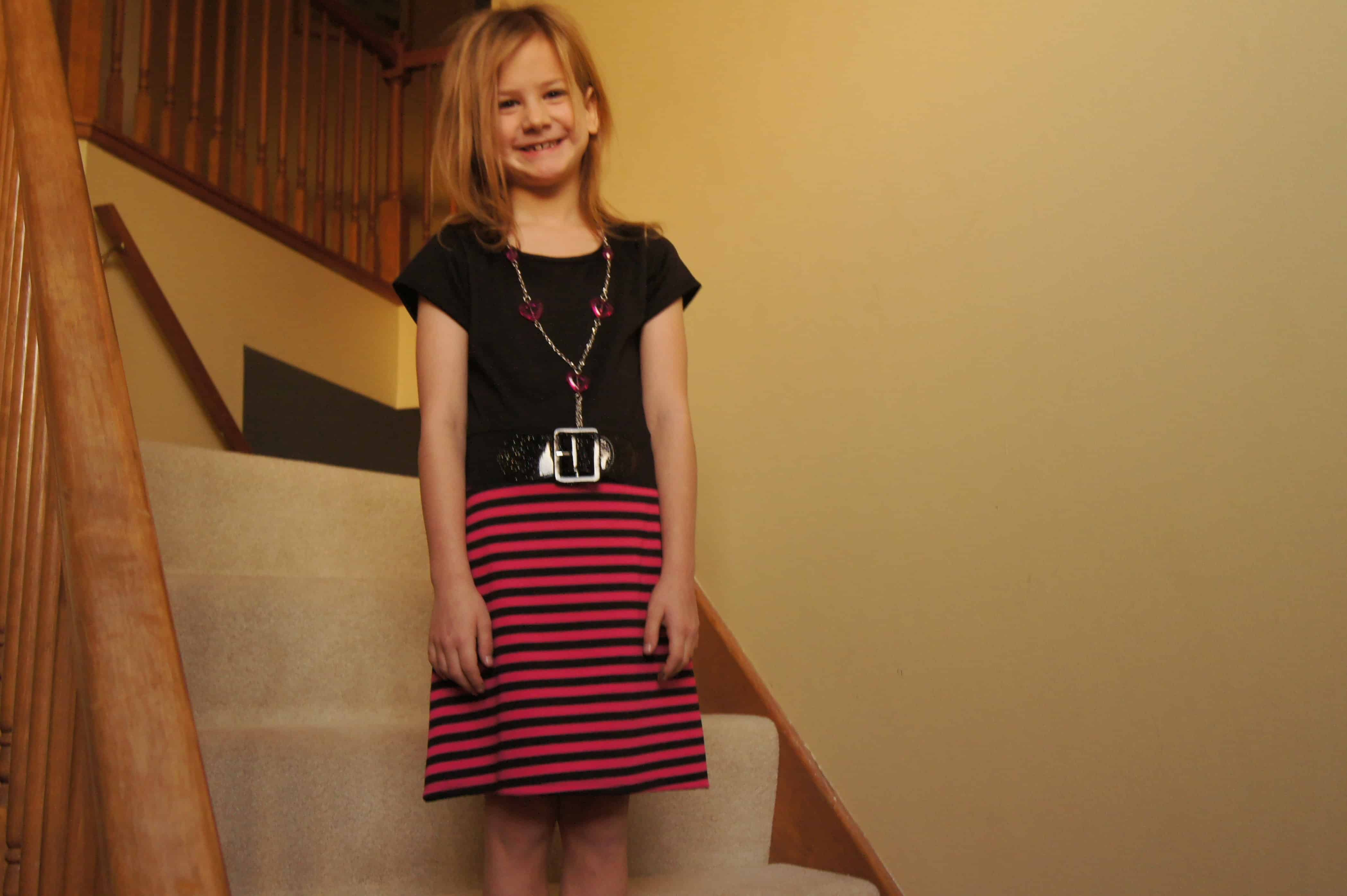 Little Miss loves her new Cookieskids.com dress #Cbias