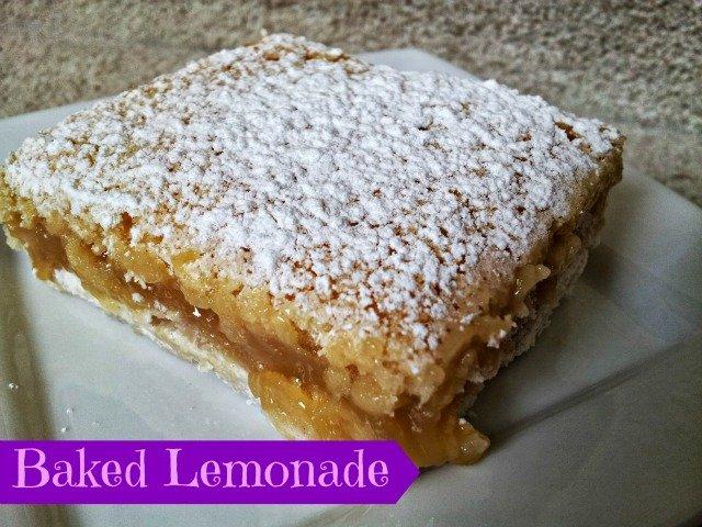 Baked Lemonade