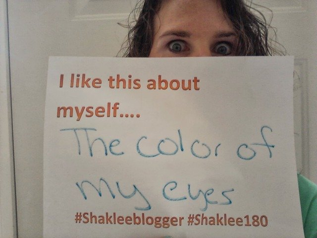 Shaklee urges me to find what I like. I like my eyes