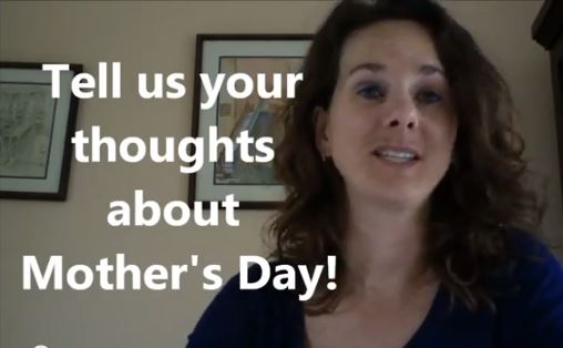 VlogMom prompt for the week of Mother's Day