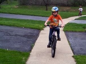biking for NFL Play60