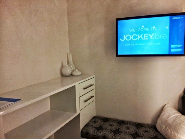 Jockey Bra store fitting room