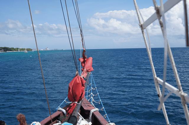 Sailing Barbados on the