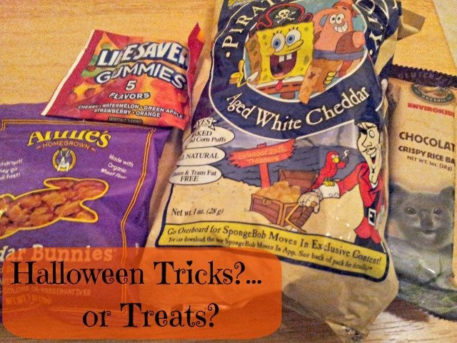 Not allergen free treats from the allergen free trick or treat event