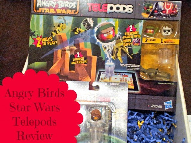 Review of angry birds star wars telepods