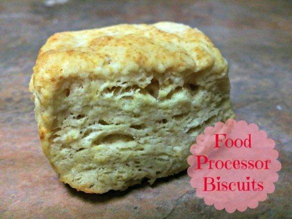 Food Processor Biscuits