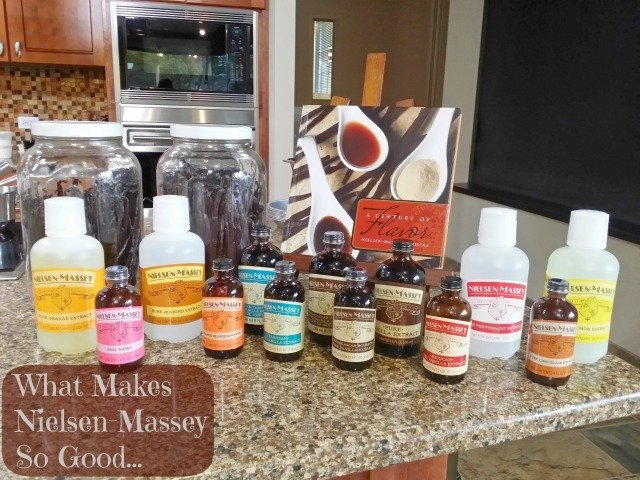 Nielsen-Massey product line on display