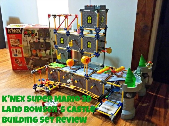 Completed K'NEX Super Mario 3D Land™ Bowser's Castle Building Set