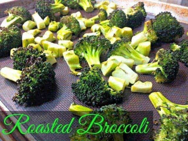 Roasted broccoli recipe is kid and allergy friendly