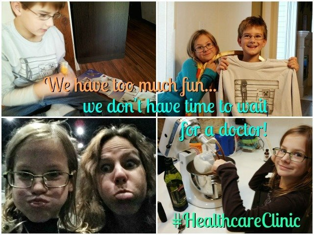 We have too much fun every day to waste time sick or injured. The Walgreens #healthcareclinic means we're in and out and back to health quickly! #shop #cbias