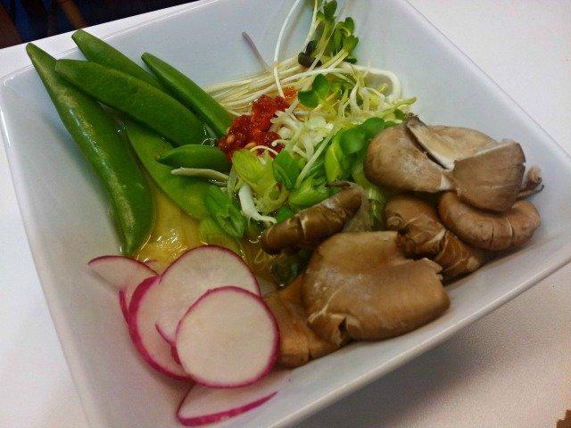 Relished Vegetable Ramen menu