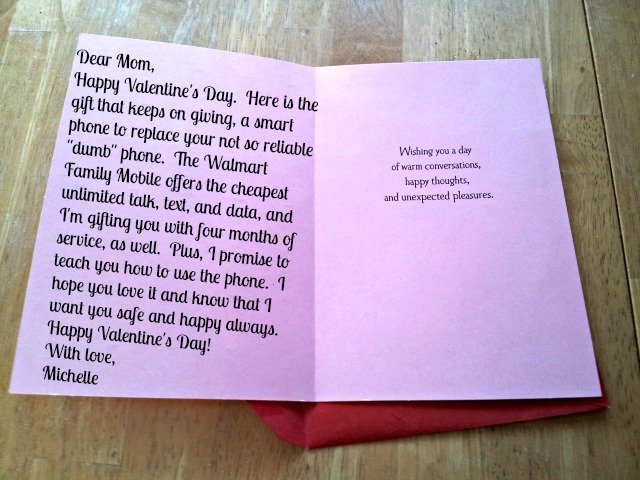 Cheap Wireless Plan As Valentines Gift Absolutely Honest And – Walmart Valentine Cards