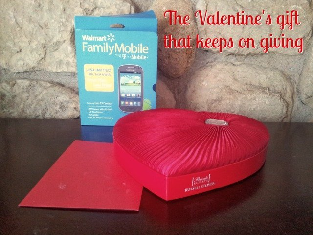 Give Walmart #FamilyMobile as a Valentine's gift, and you're sure to be appreciated #shop #cbias