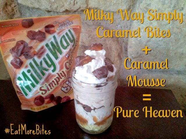 Milky Way Simply Caramel Bites make a heavenly caramel trifle #shop