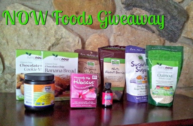 NOW Foods Giveaway - GFCF and free of the 8 major allergens