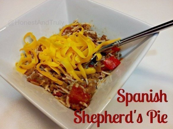 Spanish Shepherd's Pie - a continental twist on an old English favorite