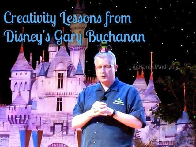 Lessons in creativity from a master - Disney's Gary Buchanan #DisneySMMoms